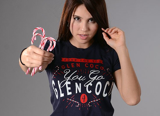 You Go Glen Coco on Juniors T-Shirt
