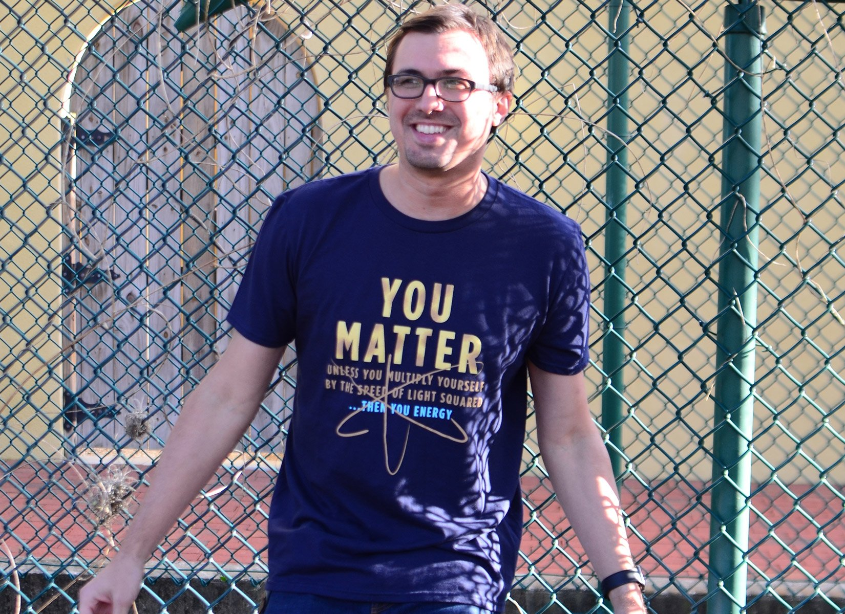 You Matter on Mens T-Shirt