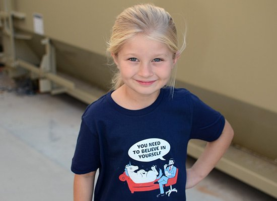 You Need To Believe In Yourself on Kids T-Shirt