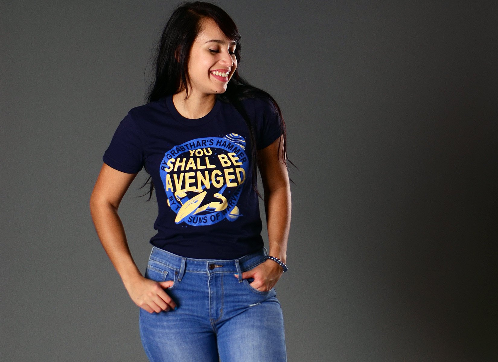 You Shall Be Avenged on Juniors T-Shirt