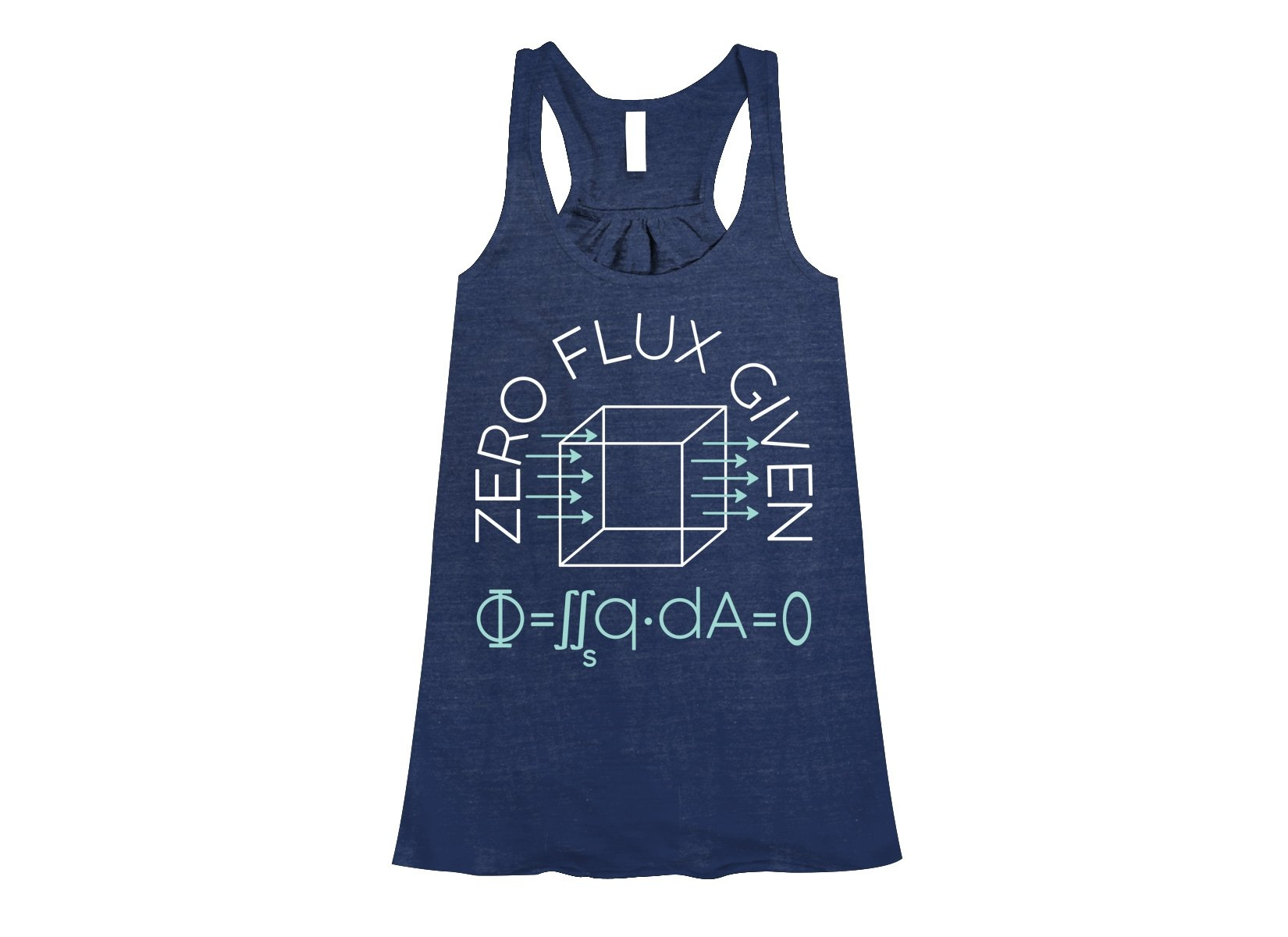 Zero Flux Given on Womens Tanks T-Shirt