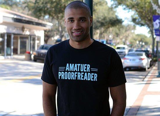Amatuer Proorfeader