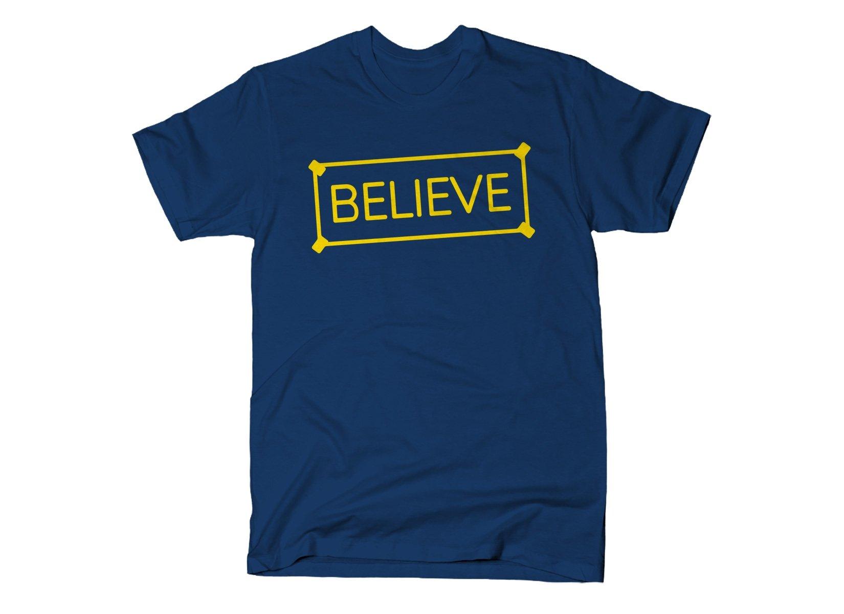 Believe Sign
