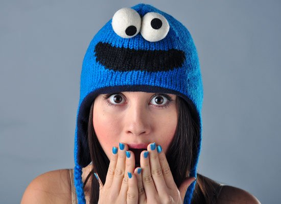 Cookie Monster Sesame Street Hat  8a32a365f98