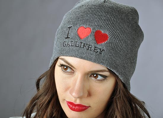 I Heart Heart Gallifrey Beanie