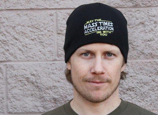 May The Mass x Acceleration Beanie