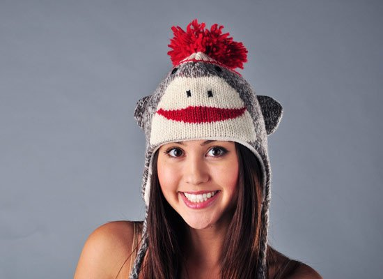 Cute Sock Monkey Hat | SnorgTees