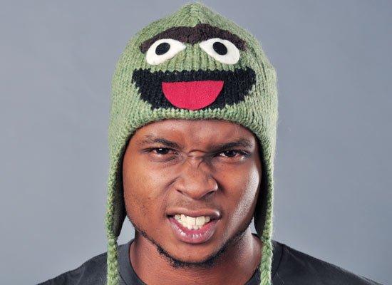 Oscar The Grouch Sesame Street Hat