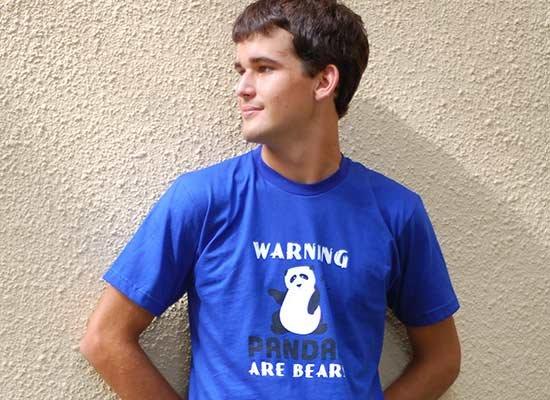 Warning, Pandas Are Bears
