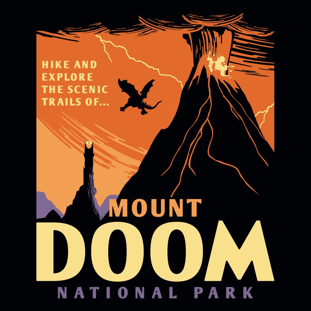 Mount Doom National Park