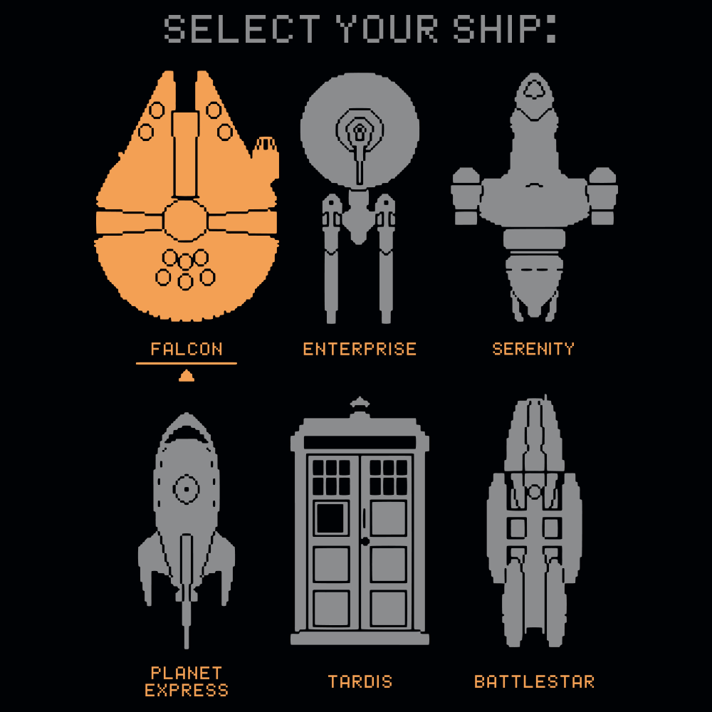 Select Your Ship