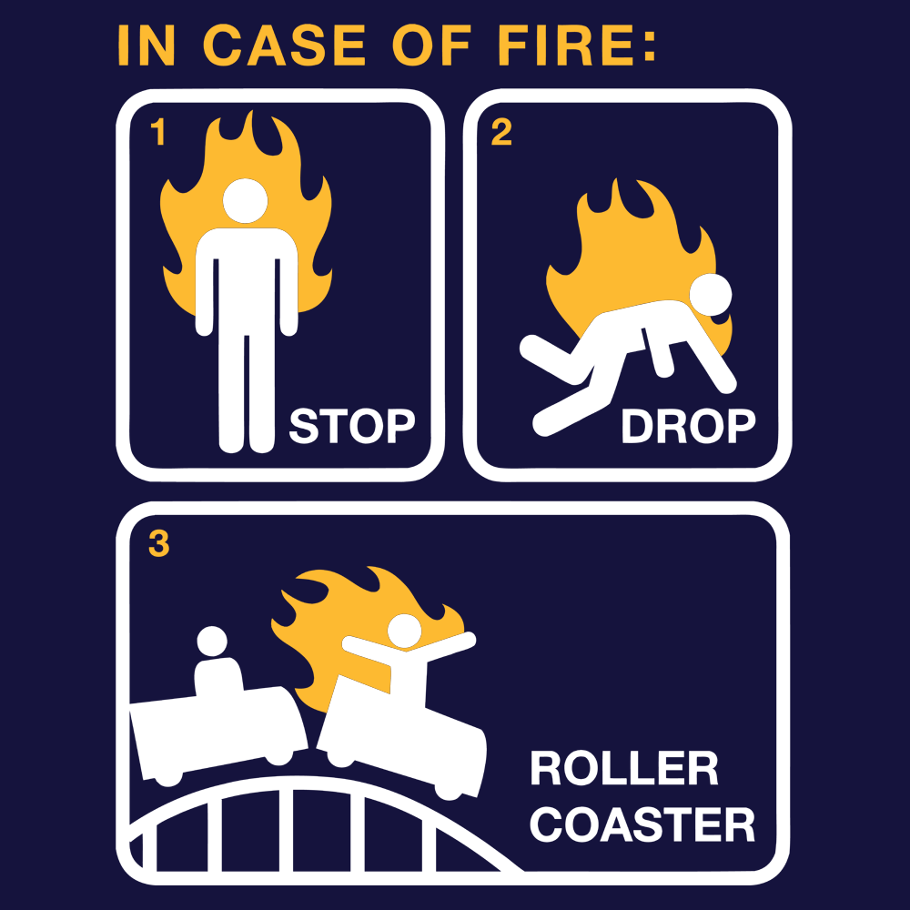 Stop Drop Roller Coaster