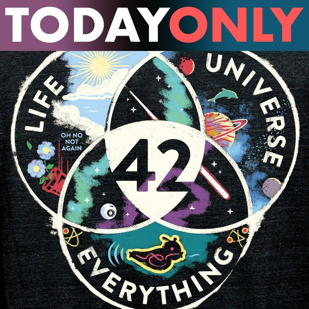 Life, Universe, Everything Limited Edition Tri-Blend