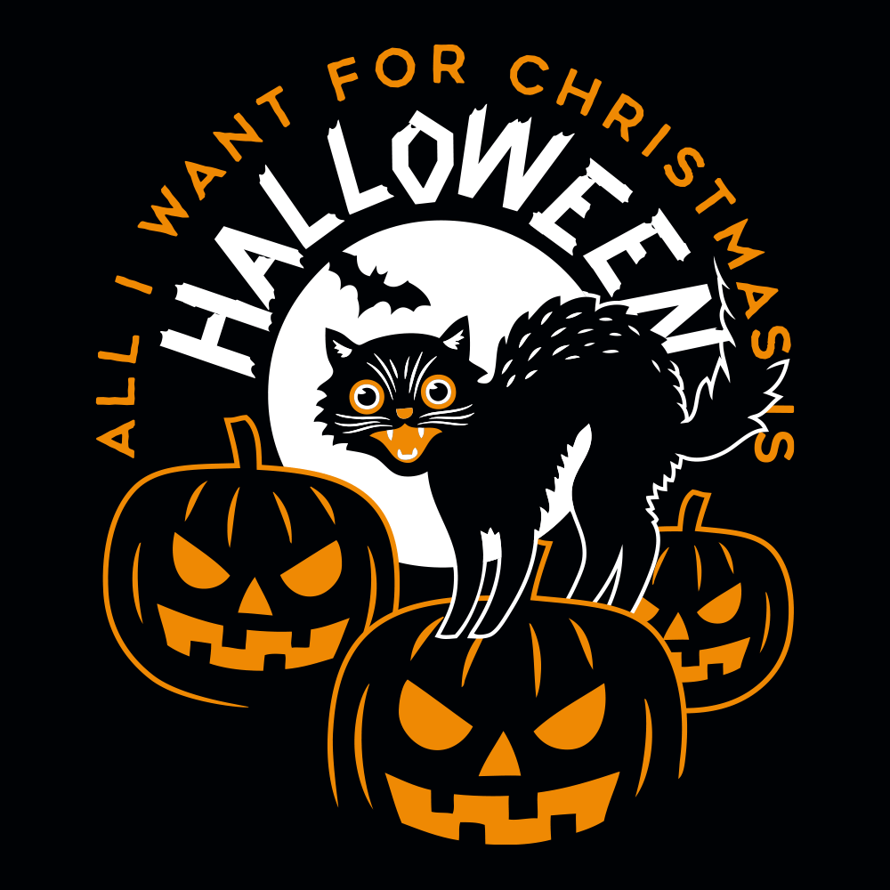 All I Want For Christmas Is Halloween