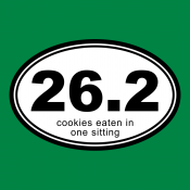 26.2 Cookies Eaten In One Sitting