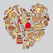 Baking Heart