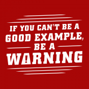 Be A Warning