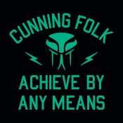 Cunning Folk Achieve By Any Means
