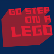 Go Step On A Lego