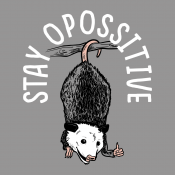 Stay Opossitive