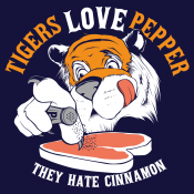 Tigers Love Pepper