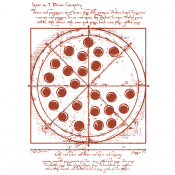 Vitruvian Pizza