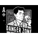 Danger Zone on Mens T-Shirt