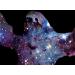 Sloth Nebula on Mens T-Shirt