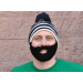 Bearded Winter Hat on Mens Hats