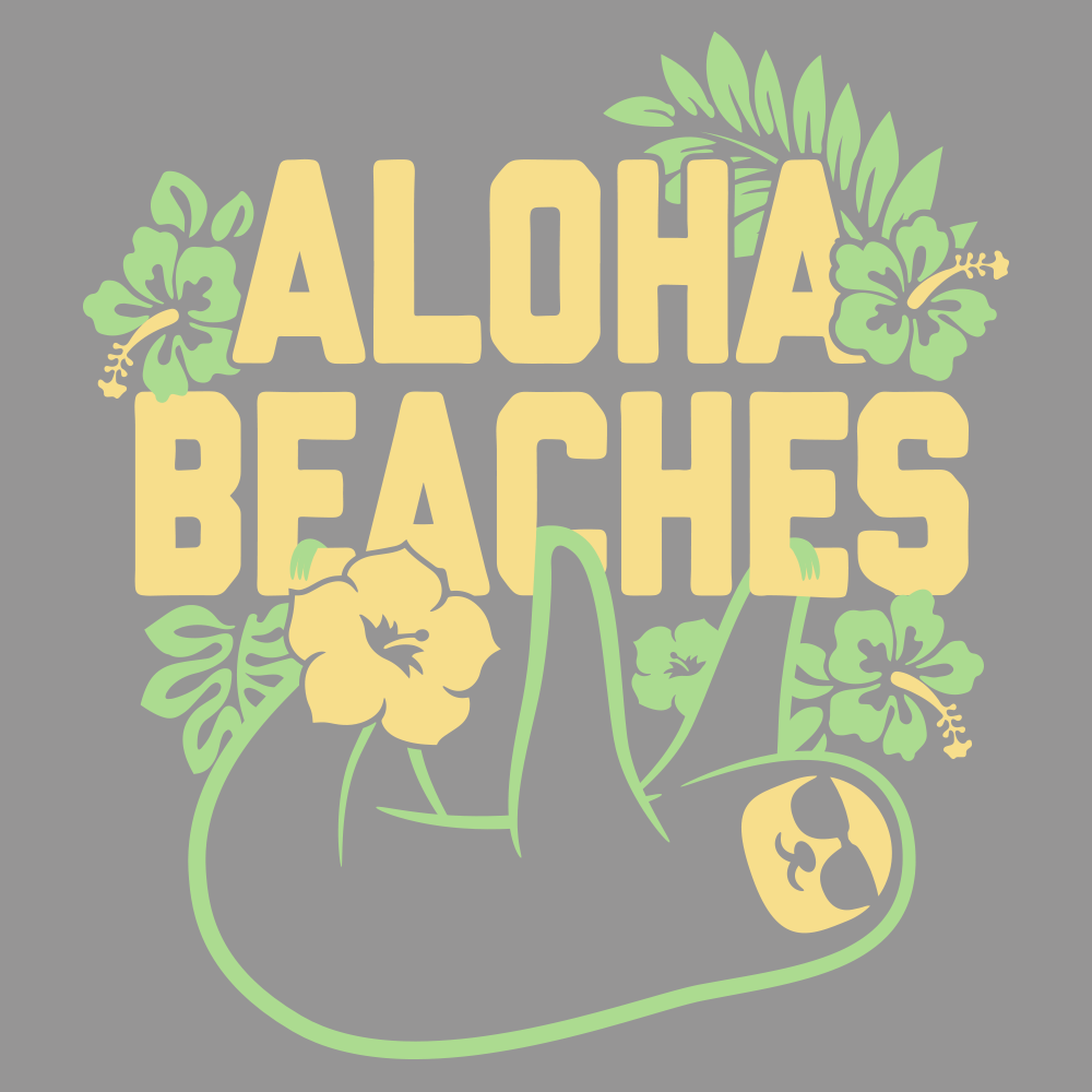Aloha Beaches T-Shirt | SnorgTees