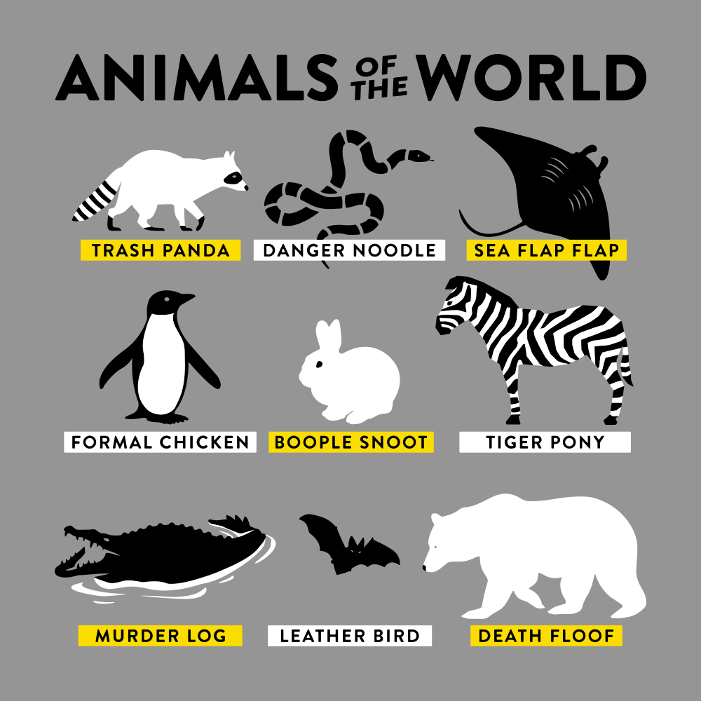 Animals Of The World T-Shirt