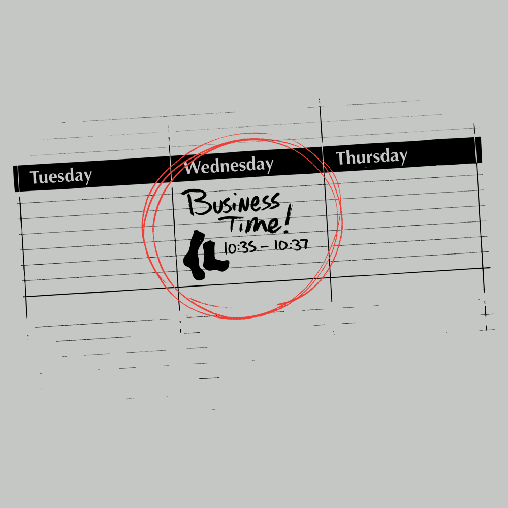 Its Business Time T Shirt