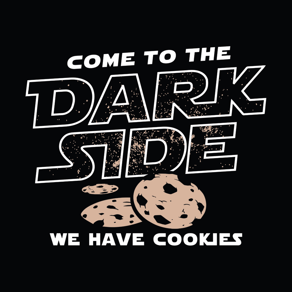 Come To The Dark Side, We Have Cookies T-Shirt | SnorgTees