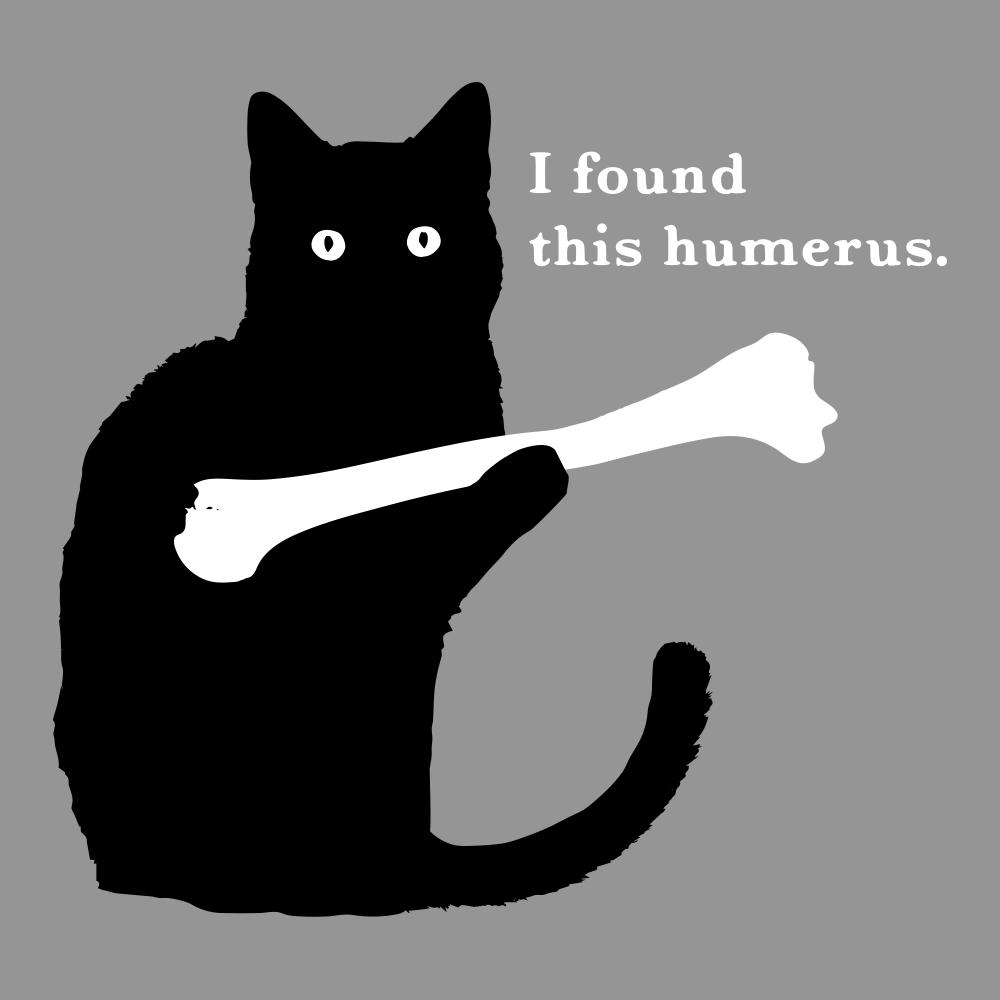 I Found This Humerus T-Shirt  Snorgtees-8132