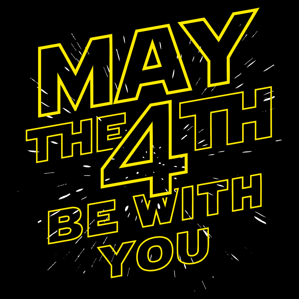 May The 4th Be With You: May The 4th Be With You T-Shirt