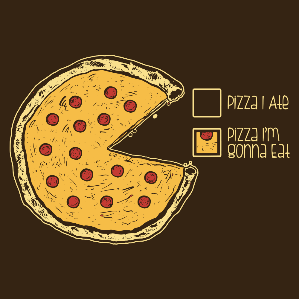 Mens Pizza Pi Tshirt Funny Nerdy Math Food Tee For Guys