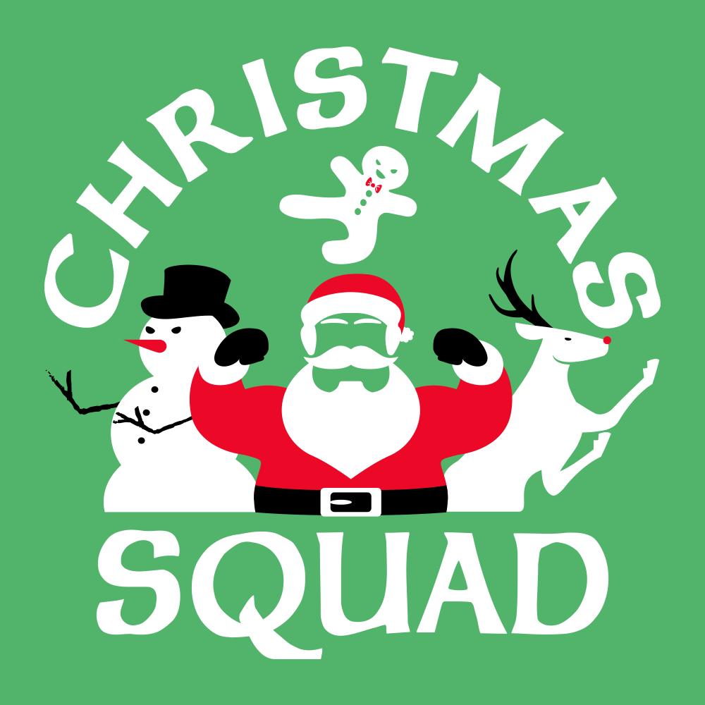 dceff925e Christmas Squad T-Shirt | SnorgTees