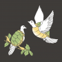 Two Turtle Doves artwork