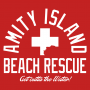 Amity Island Beach Rescue artwork