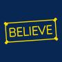 Believe Sign artwork