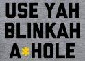 Use Yah Blinkah artwork