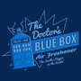 Blue Box Air Freshener artwork