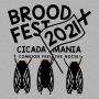 Brood X Fest 2021 artwork