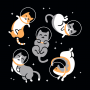 Cats In Space artwork