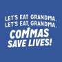 Commas Save Lives! artwork