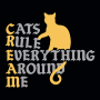 Cats Rule Everything Around Me artwork
