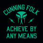 Cunning Folk Achieve By Any Means artwork