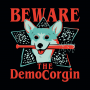 The DemoCorgin artwork