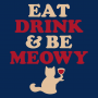 Eat Drink & Be Meowy artwork