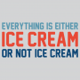 Everything Is Ice Cream Or Not Ice Cream artwork